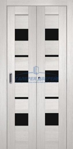 Межкомнатная складная дверь Темпо 12 белый