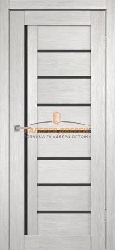 Межкомнатная дверь Темпо 13 велюр белый