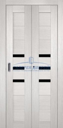 Межкомнатная складная дверь Темпо 15 белый