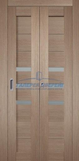 Межкомнатная складная дверь Темпо 15 бруно
