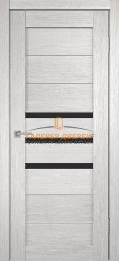 Межкомнатная дверь Темпо 15 велюр белый