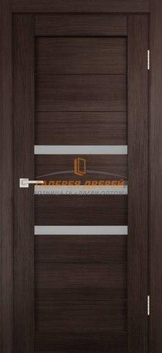 Межкомнатная дверь Темпо 15 велюр венге