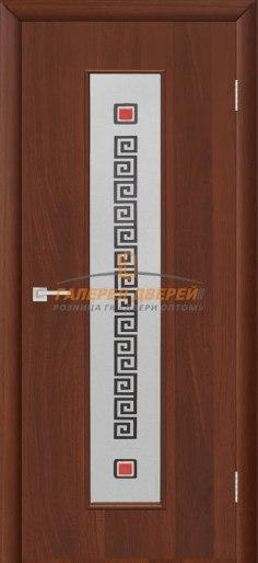 Межкомнатная дверь Тиффани-1 Итальянский орех
