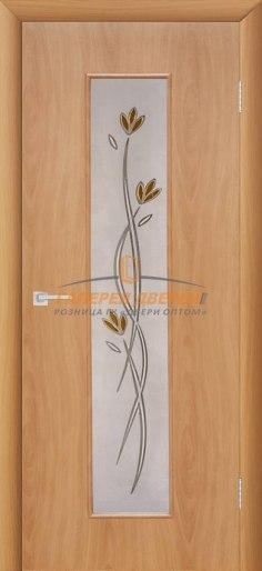 Межкомнатная дверь Тиффани-2 Миланский орех