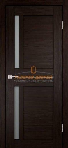 Дверь экошпон Твист ПО венге