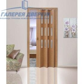 Раздвижная пластиковая дверь (гармошка), ПО старый дуб