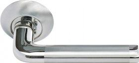 Ручка Колонна бел. никель/хром (MH-03 SN/CP)