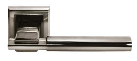 Ручка Упоение бел. никель/черн. никель (MH-13 SN-BN-S)