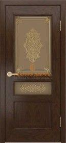 Калина-К 30 ПО Шоколад стекло Дамаск золото на бронзе