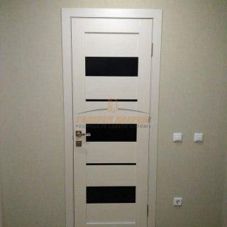 Фото межкомнатных дверей с экошпоном 5
