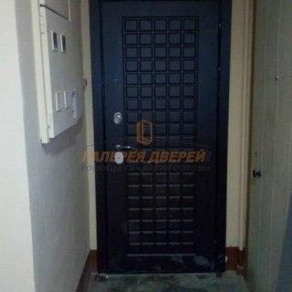 Фото установленных входных дверей