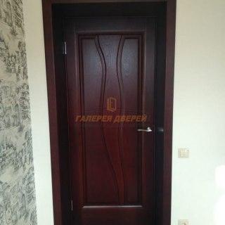 Фото межкомнатных шпонированных дверей 4