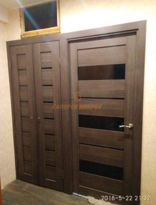 Фото межкомнатных дверей с экошпоном 4
