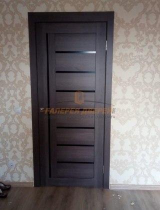 Фото межкомнатных дверей с экошпоном 8