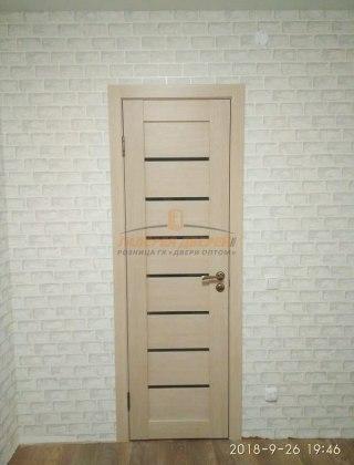Фото межкомнатных дверей с экошпоном 9