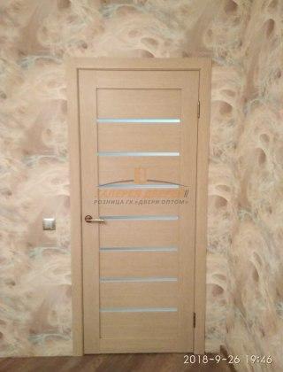 Фото межкомнатных дверей с экошпоном 10
