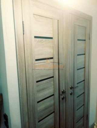 Фото межкомнатных дверей с экошпоном 15
